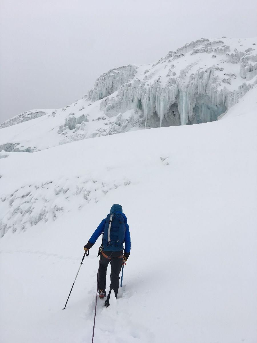 Refugio Cayambe, 4,600 msnm. Expedición a ecuador