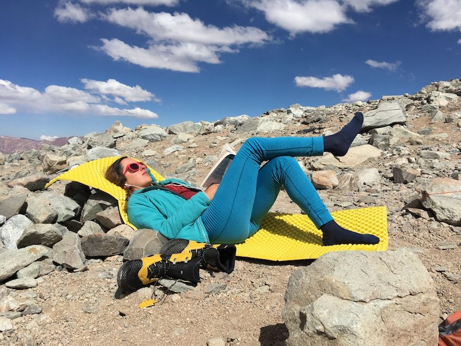 7 usos de un sleeping pad que seguro no conocías