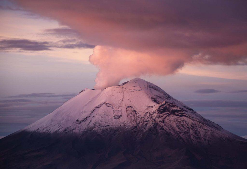 fotografia en la montaña