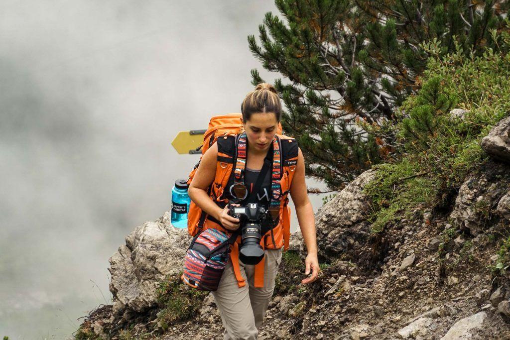 fotógrafo de montaña
