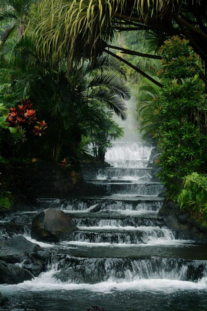Cascadas Tabacón